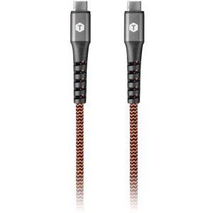 Laddkabel Flätad, USB-C till USB-C