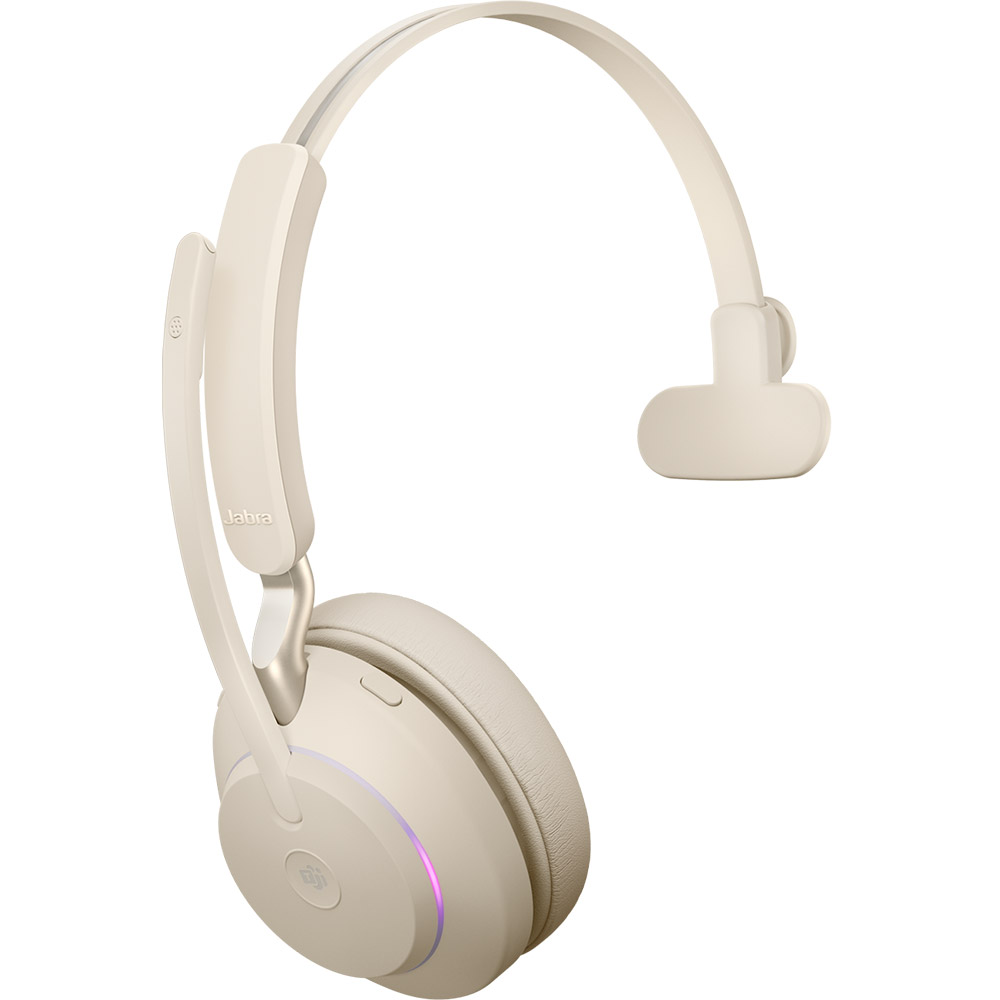 Jabra Evolve2 65 MS USB-A Mono Beige
